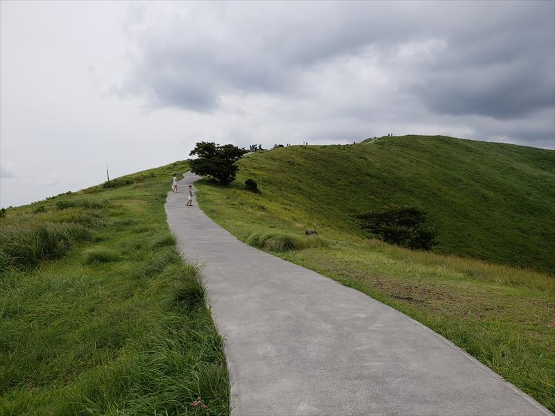 伊豆高原のシンボル、大室山!