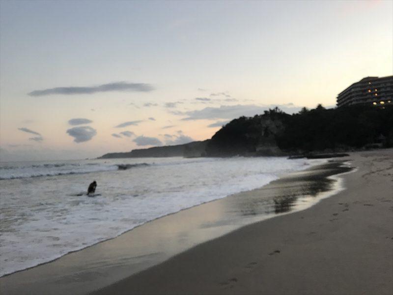 多々戸浜(夕方)