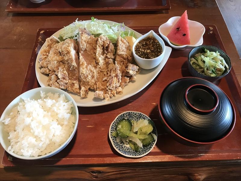 伊豆高原の定食屋さん♪