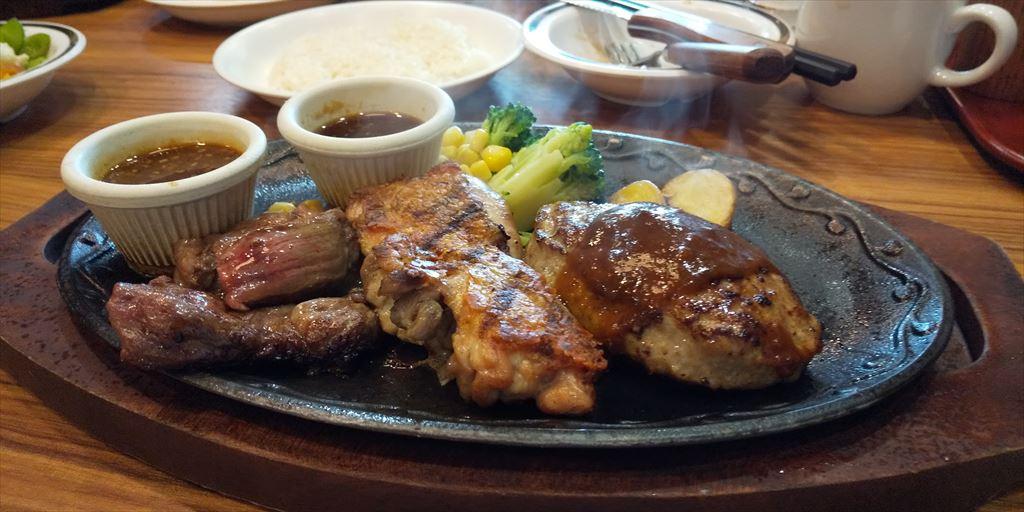 ステーキハンバーグ&サラダバーけん(函南店)