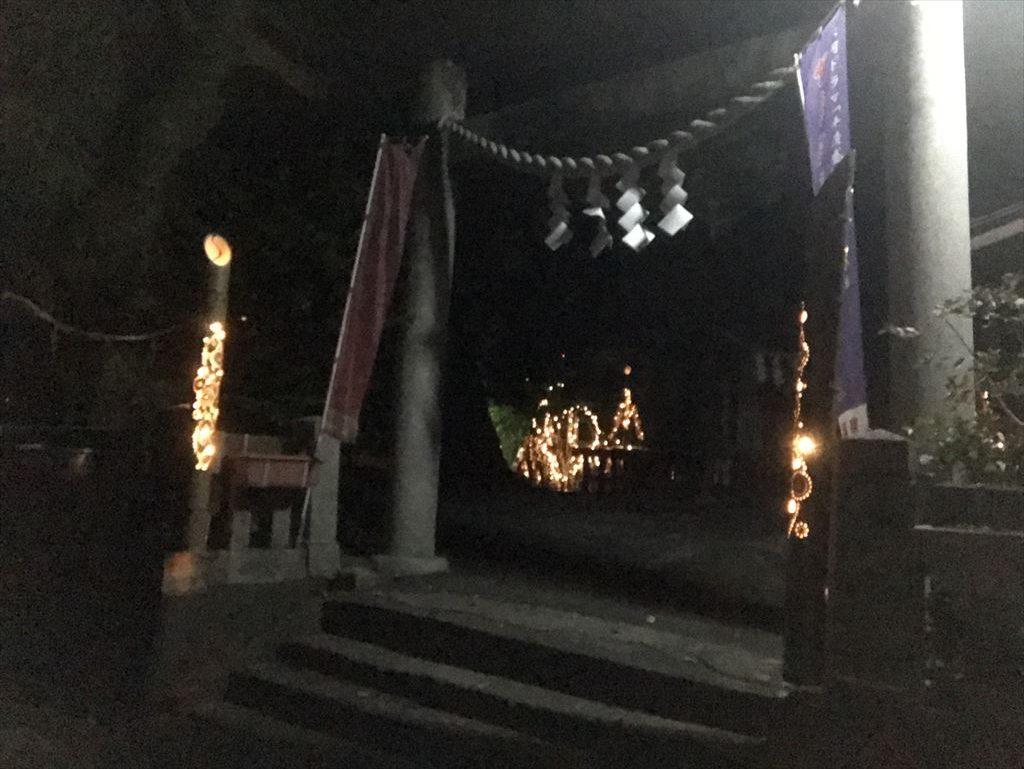 音無神社「祈りの竹あかり」