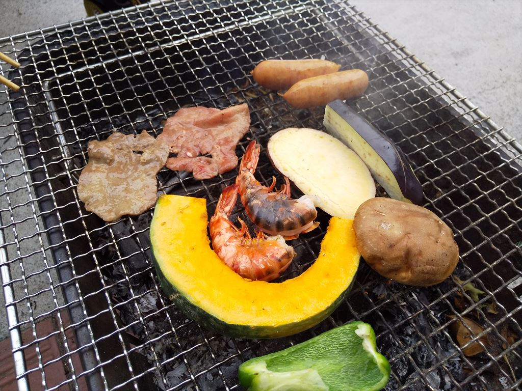 BBQ at home