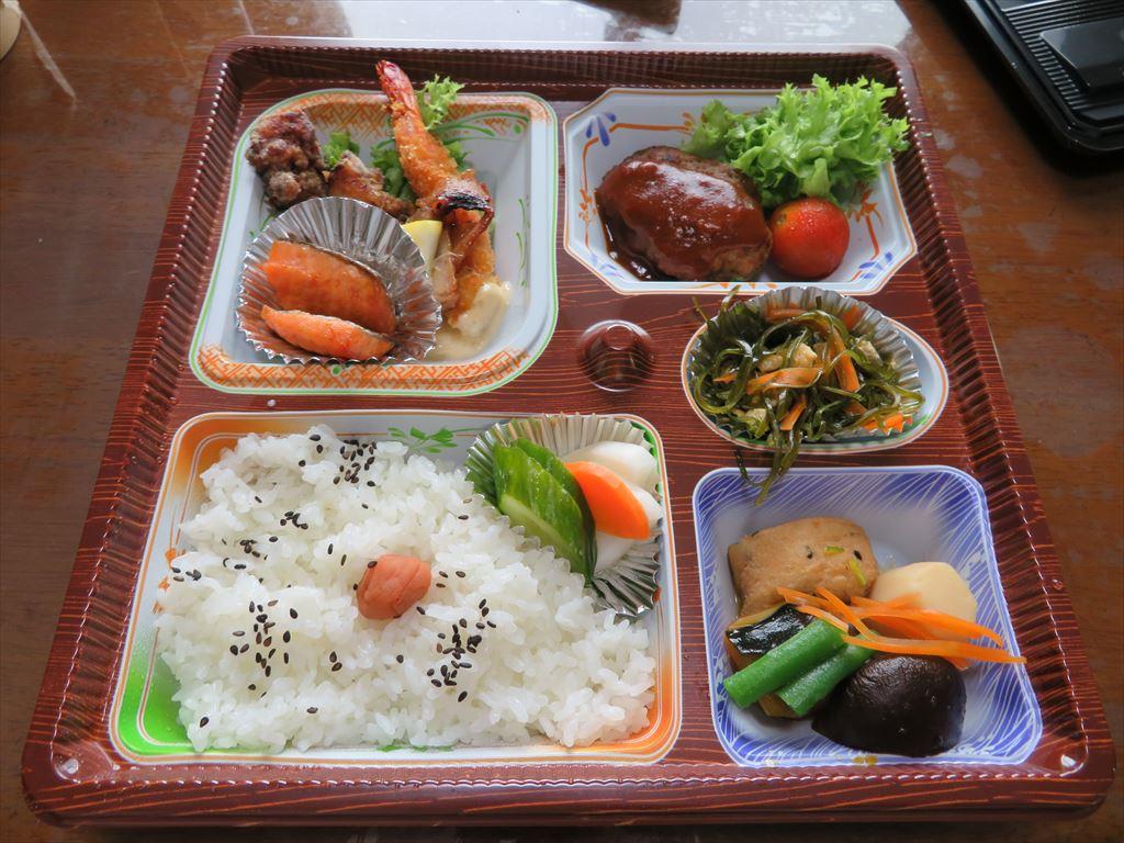 介山さんのお弁当