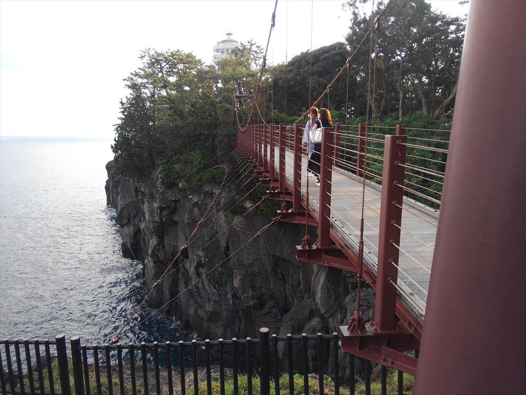 城ケ崎海岸の吊り橋
