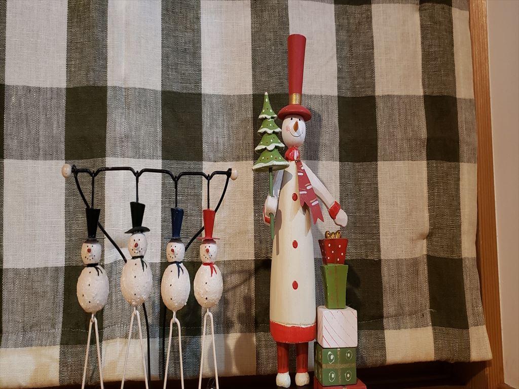 我が家のクリスマスの仲間たち